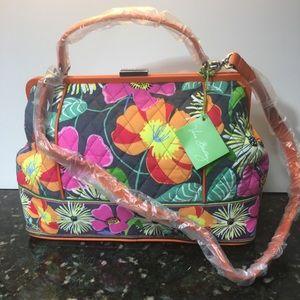 NWT Vera Bradley Barbara Frame Bag!